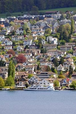 The Gold Coast on Lake Zurich, for the Love of Switzerland - Blank 150 Page Lined Journal for Your Thoughts, Ideas, and...