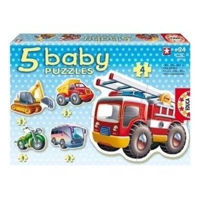 Educa Vehicles Baby Puzzles (5 Assorted):