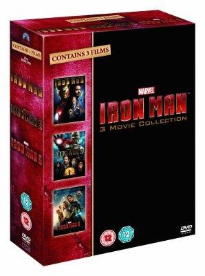 Iron Man: 3-Movie Collection - Iron Man 1 / 2 / 3 (DVD, Boxed set)