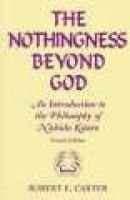Nothingness Beyond God: An Introduction to the Philosophy of Nishida Kitaro Second Edition (Paperback, 2Rev ed): Robert E....