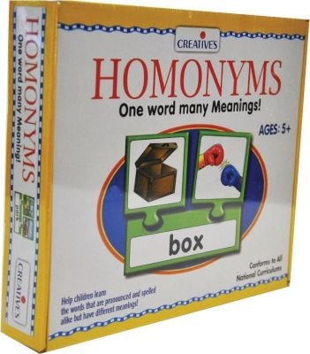 Creative's Learning to Read - Homonyms: