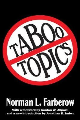 Taboo Topics (Paperback): Norman L. Farberow