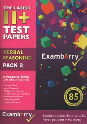 11+ Test Papers - Verbal Reasoning Pack 2 (Pamphlet): Examberry LLP