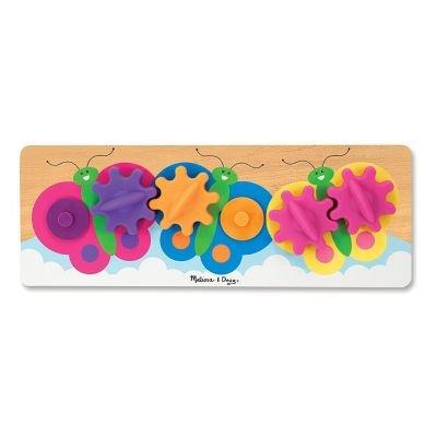 Fluttering Butterflies Gear Toy: Melissa & Doug