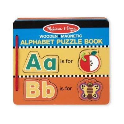 Alphabet Puzzle Book: Melissa & Doug