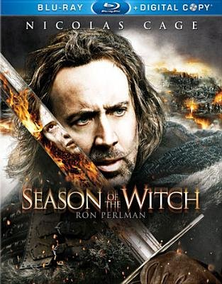 Season of the Witch (Region A Import Blu-ray disc, Digital Copy In): Dominic Cage Sena, Ron Sena Perlman