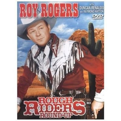 Rough Riders Round-Up (Region 1 Import DVD): Rogers;roy