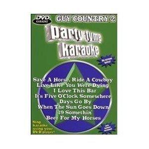 PARTY TYME KARAOKE:GUY COUNTRY 2 (Region 1 Import DVD): Party Tyme Karaoke