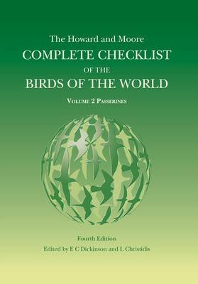 The Howard and Moore Complete Checklist of the Birds of the World, Volume 2 - Passerines (Hardcover, 4th Revised edition):...