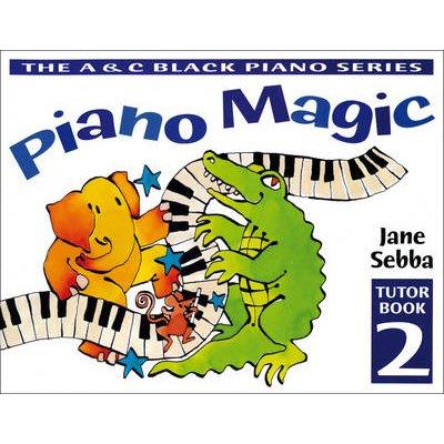 Piano Magic Tutor Book 2 (Paperback): Jane Sebba