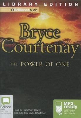 The Power of One (MP3 format, CD, Library ed.): Bryce Courtenay