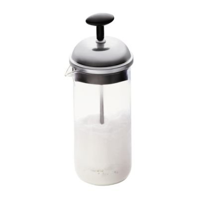 Bodum Chambord Classic Milk Frother (80ml)(Black and Clear):
