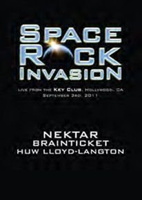 Various Artists - Space Rock Invasion (DVD): Huw Lloyd-Langton, Brainticket, Nektar