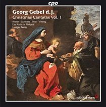 Various Artists - Georg Gebel D. J.: Christmas Cantatas (CD): Georg Gebel D. J., Veronika Winter, Britta Schwarz, Andreas Post,...
