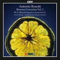 Various Artists - Antonio Rosetti: Bassoon Concertos (CD): Antonio Rosetti, Wolfgang Amadeus Mozart, Eckart Hubner,...