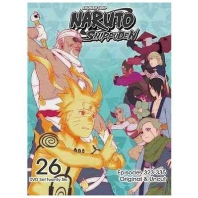 Naruto: Shippuden - Box Set 26 (Region 1 Import DVD)   Movies & TV