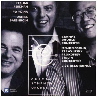 Various Artists - Brahms: Double Concerto/... (CD): Johannes Brahms, Felix Mendelssohn, Igor Stravinsky, Sergei Prokofiev,...