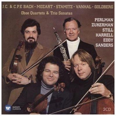 Various Artists - Oboe Quartets & Trio Sonatas (CD): Johann Christian Bach, Carl Philipp Emanuel Bach, Wolfgang Amadeus Mozart,...