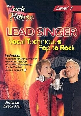 Lead Singer Vocal Techniques: Pop to Rock Level 1 (Region 1 Import DVD):