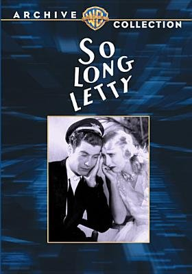 So Long Letty (Region 1 Import DVD): Lloyd Bacon