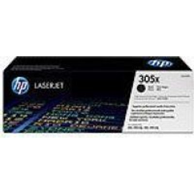 HP No.305X Black LaserJet Toner Cartridge (CE410X):