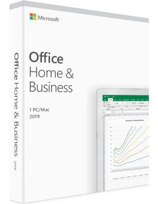 Microsoft Office 2019 Home and Business Edition (Medialess)(1 PC):