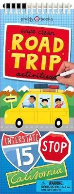 Wipe Clean Activities: Road Trip (Spiral bound): Roger Priddy