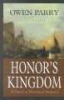 Honors Kingdom (Large print, Hardcover, large type edition): Owen Parry