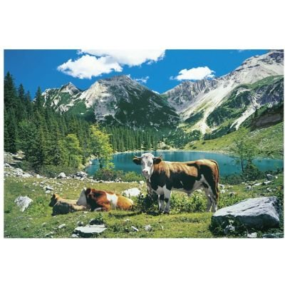 Schmidt Soiern Lake  Puzzle (500 Pieces):