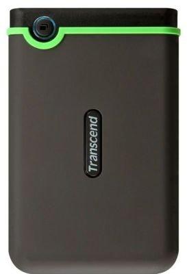 "Transcend StoreJet 25M3 2.5"" Rugged External Hard Drive (1TB)(USB 3.0):"