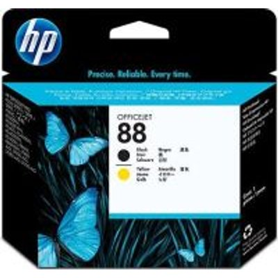 HP 88 Black and Yellow Print Head (C9381A):