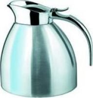 Isosteel Tableline Vacuum Pot with Flap Lid (1 litre) (Silver):