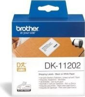 Brother DK-11202 Dispatch Labels (Roll of 200)(62mmx100mm):