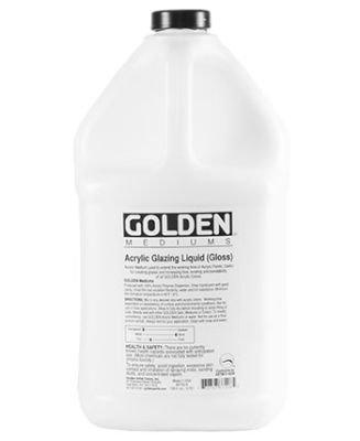 Golden Acrylic Medium - Glazing Liquid Gloss (3.78 Litre):
