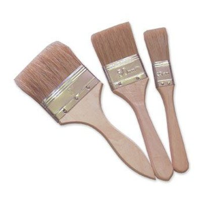 2 in RTF Granville Fibreglass Priming//Laminating Brush White Bristle