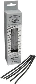Winsor And Newton Willow Charcoal - Thin (Approx 12 Pieces Per Pack):