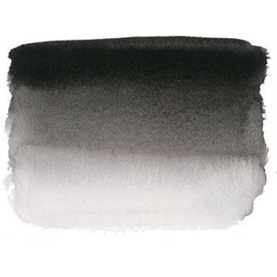 Sennelier S1 Watercolour - Ivory Black (1/2 Pan):