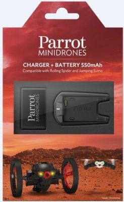 Parrot Spare Battery & Charger for Minidrone: