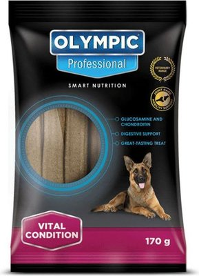 Olympic Professional Semi-Moist Vital Condition Treats for Dogs (170g):
