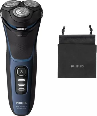 Philips Shaver 3100 Wet or Dry Electric Shaver: