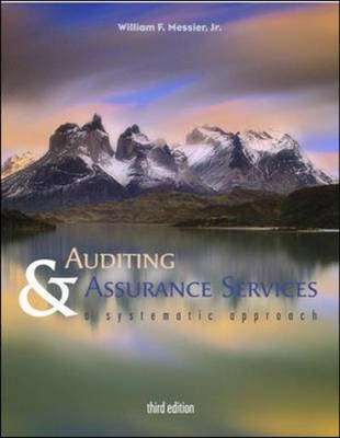 Auditing and Assurance Services - A Systematic Approach with Powerweb (Paperback, 3rd edition): Messier