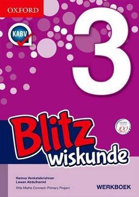 Blitz Wiskunde - Gr 3: Werkboek (Afrikaans, Paperback):
