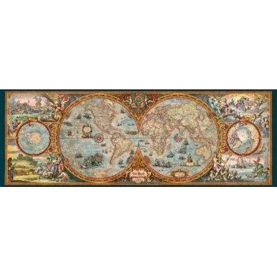 Jigsaw Puzzles - Heye Zigic - Hemisphere Map Puzzle (6000 ...
