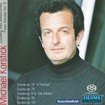 Michael Korstick - Ludwig Van Beethoven: Piano Sonatas (SACD super audio format, CD): Ludwig Van Beethoven, Michael Korstick