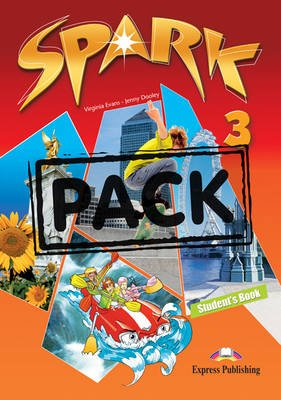 Spark, Level 3 - Student's Pack (Hungary); Monstertrackers (Paperback): Virginia Evans, Jenny Dooley