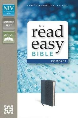 NIV, ReadEasy Bible, Compact, Imitation Leather, Pink/Brown, Red Letter Edition (Leather / fine binding, Special edition):...