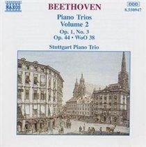 Various Artists - Piano Trios - Volume 2 (CD): Ludwig Van Beethoven, Struttgart Piano Trio, Teije van Geest, Gunter Appenheimer