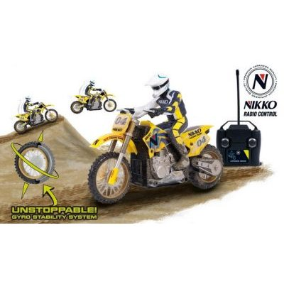 Nikko Radio Control Cross Bike with Rechargeable Battery:
