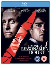 Beyond a Reasonable Doubt (Blu-ray disc): Michael Douglas, Jesse Metcalfe, Amber Tamblyn, Orlando Jones, Joel David Moore, Tony...