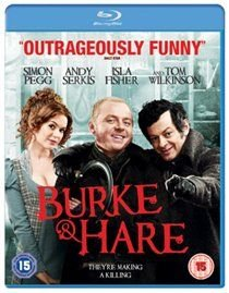 Burke and Hare (Blu-ray disc): Tim Curry, Simon Pegg, Isla Fisher, Christopher Lee, Andy Serkis, Tom Wilkinson, Jenny Agutter,...